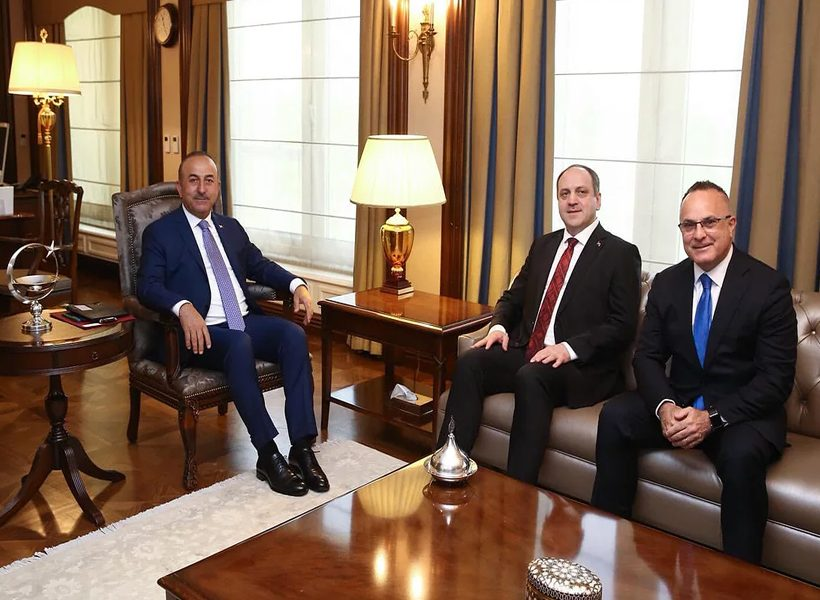 Meeting with Mevlut Cavusoglu