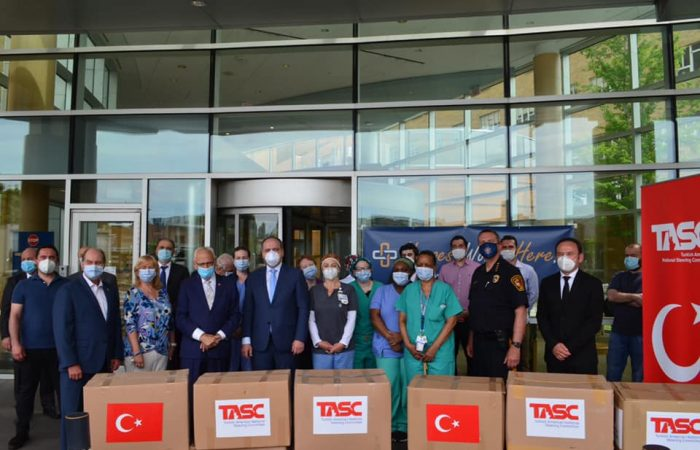We donated 4,500 PPE items to Saint Joseph hospital in Paterson