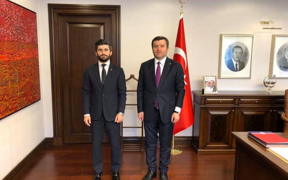Türkiye Dışişleri Bakan Yardımcısı'nı Ziyaret